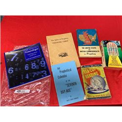 A Lot of Books on Numerology Fortuneteller's Prophecy Etc