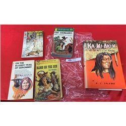 Lot of Vintage Novels  Paperback and Hardcover Books