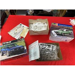 Unused Vintage 1:25 Scale Models 78 Trans Am and a 69 Camero