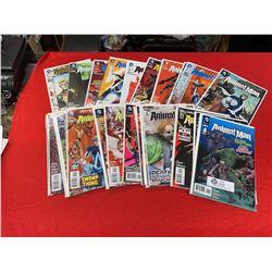 DC Comics Aminal Man Series Volume 1 through 29
