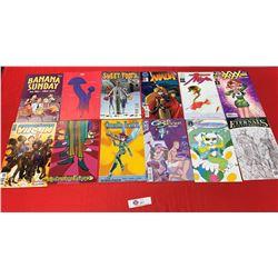 Lot of 12 Various Comics