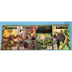 World War Hulk Gamma Comics. Numbers 1-4