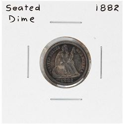 1882 Seated Liberty Dime Coin