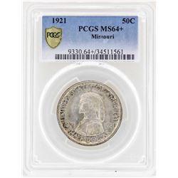 1921 Missouri Centennial Commemorative Half Dollar Coin PCGS MS64+