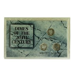 Dimes of the 20th Century Coin Set