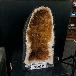 "APPROX. 15"" CITRINE GEODE"