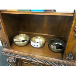 LOT OF SINGING BOWLS