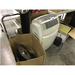 DELONGHI AIR CONDITIONER, HEATER AND MISC.