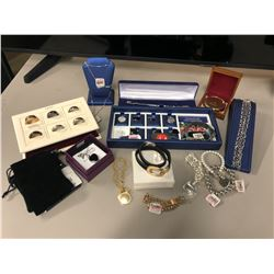 BAG OF ENGRAVING STORE INVENTORY/SUPPLIES INC. DECORATIONS, SAMPLE PRODUCTS AND MORE