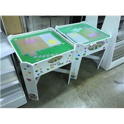 2 CHILDRENS PLAY TABLES