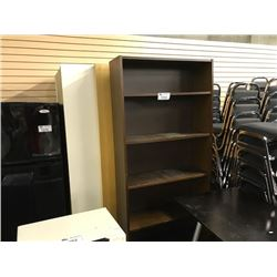 9 MISC. 6' BOOKCASES