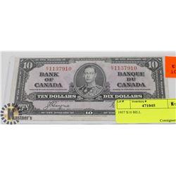 1937 $10 BILL