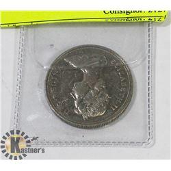 1871-1971 CANADIAN BRITISH COLUMBIA  SILVER DOLLAR
