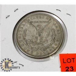 U.S. 1921 SILVER MORGAN $1 COIN