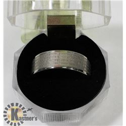LORDS PRAYER MENS RING SIZE 11