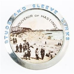 Hastings Silver Pill Box