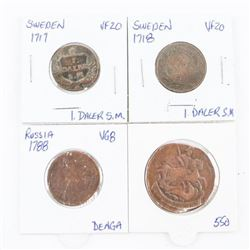 Estate Lot - Coins Sweden and Russia