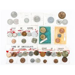 Estate Bag Misc. Coins Burma etc