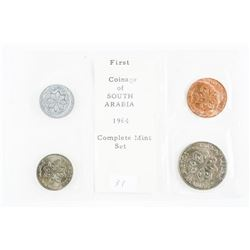First Coinage of South Arabia 1964 Complete Set