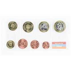 Armenia 2004 UNC Coins