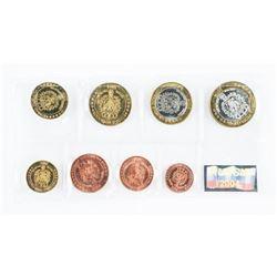 Macedonia 2005 UNC Coins