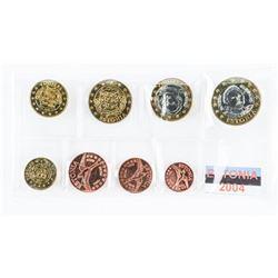 Estonia 2004 UNC Coins