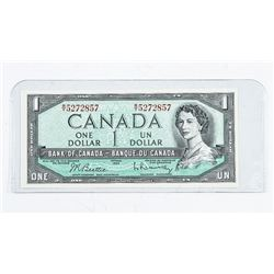 Bank of Canada 1954 1.00 B/R UNC (ER)