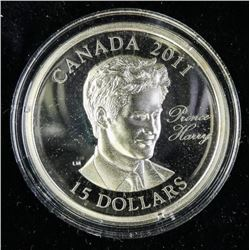 2011 $15.00 Continuity of the Crown: Prince Harry