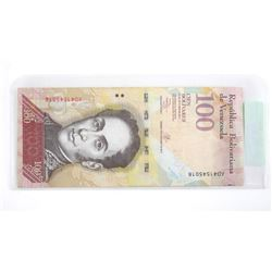 2017 Republic of Venezuela 100.00