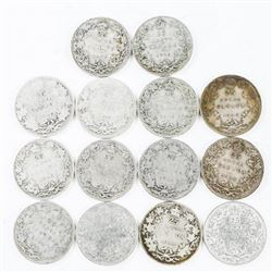 Estate Lot (14) Silver 25 Cent Early Years