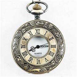 Antique Style Pocket Watch with Fob