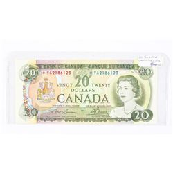 Bank of Canada 1969 20.00 *Replacement L/B BC50bA