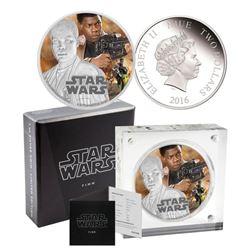 Disney .9999 Fine Silver Coin 'Star Wars - Finn'