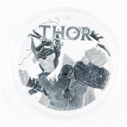 .9999 Fine Silver 1.00 Coin 'THOR' Proof 1oz ASW