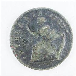 USA - Woods/Hiberinia 1723 over 22 Half Penny