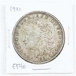 1921 USA Silver Morgan Dollar EF40
