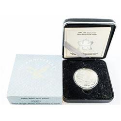 1997 Silver Loon Dollar - 10th Anniversary Coin (S