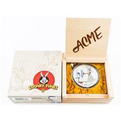 .9999 Fine Silver $30.00 Coin Warner Bros Looney T