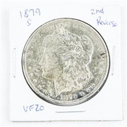 1879 (S) USA Silver Morgan Dollar VF20 2nd Reserve