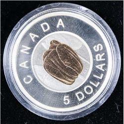 2014 .9999 Fine Silver and Niobium $5.00 Coin 'Tul