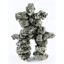 Genuine 'PYRITE' (MXR) Inukshuk Sculpture