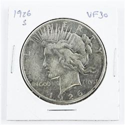 1926(S) USA Peace Dollar VF30