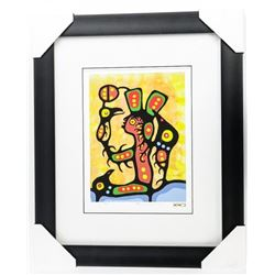 Christian Morrisseau (1969-) Serigraphic - 'Chimo