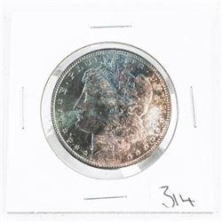 1889 USA Silver Morgan Dollar MS64. Premium Toning