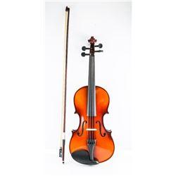 Violin, Case, Bow Handmade with Piano Finish
