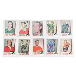 Lot (10) Estate OPEE CHEE Hockey Cards 1960s