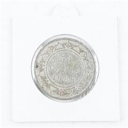 1888 Canada Victoria 50 cent
