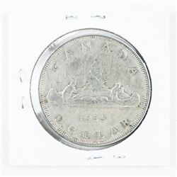 1935 Canada Silver Dollar 1st Issue