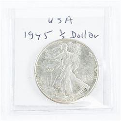 1945 USA Half Dollar EF
