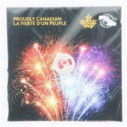 .9999 Fine Silver $5.00 Coin - OH CANADA Gift Foli